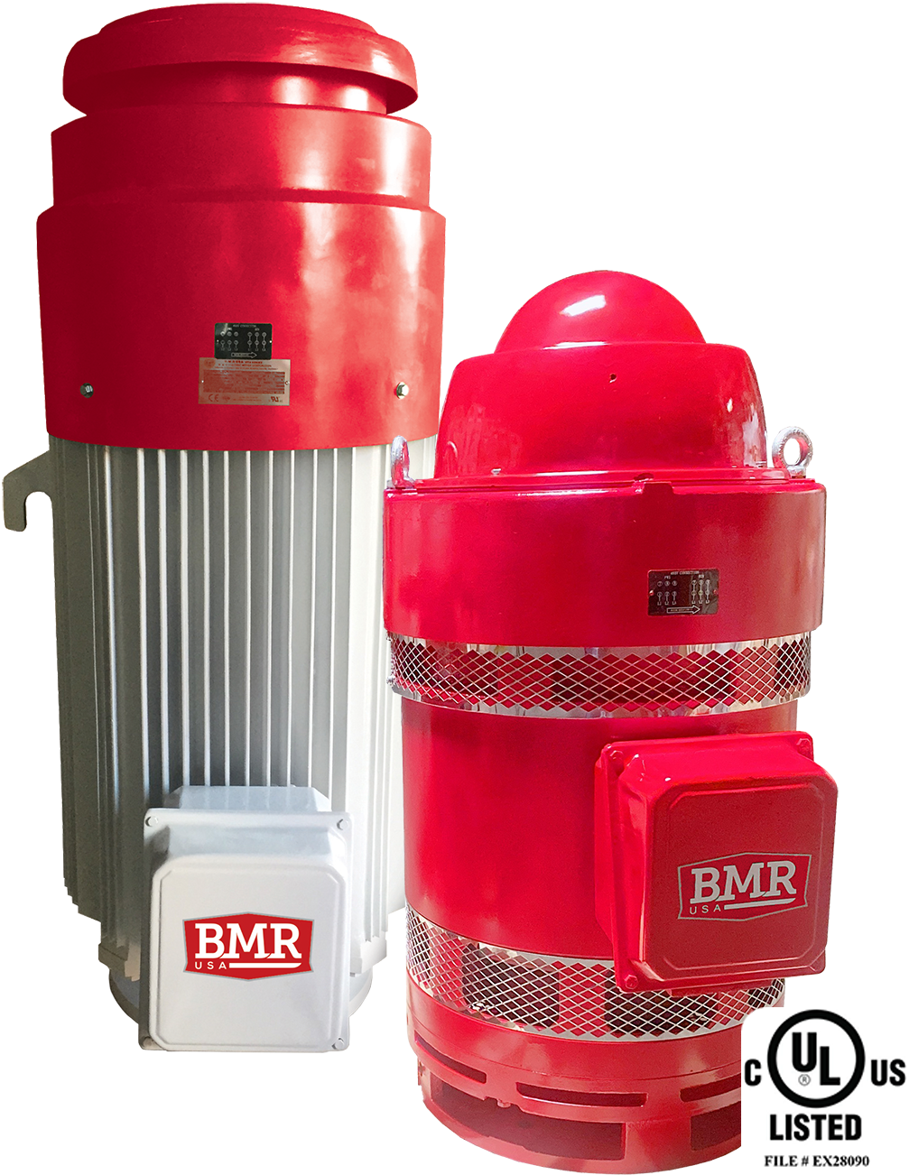 BMR HTA Atlas Series Motor Red